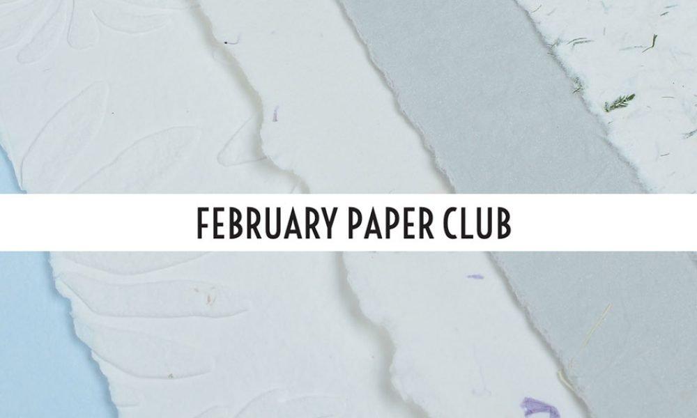 February Paper Club