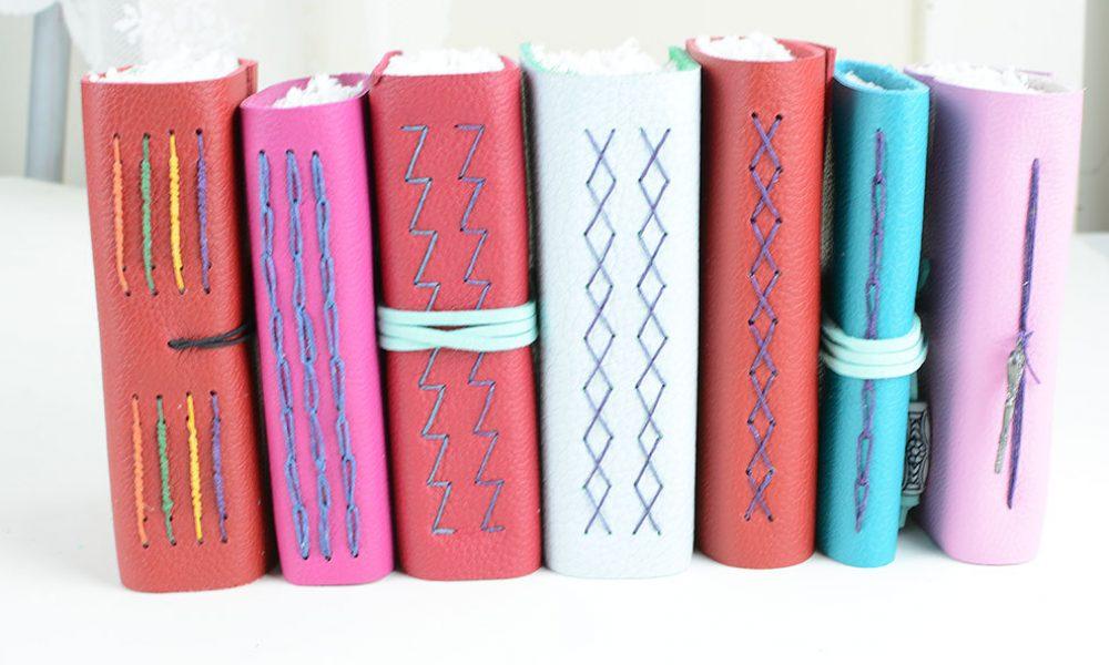 Set of Leather Journals | Vintage Page Designs