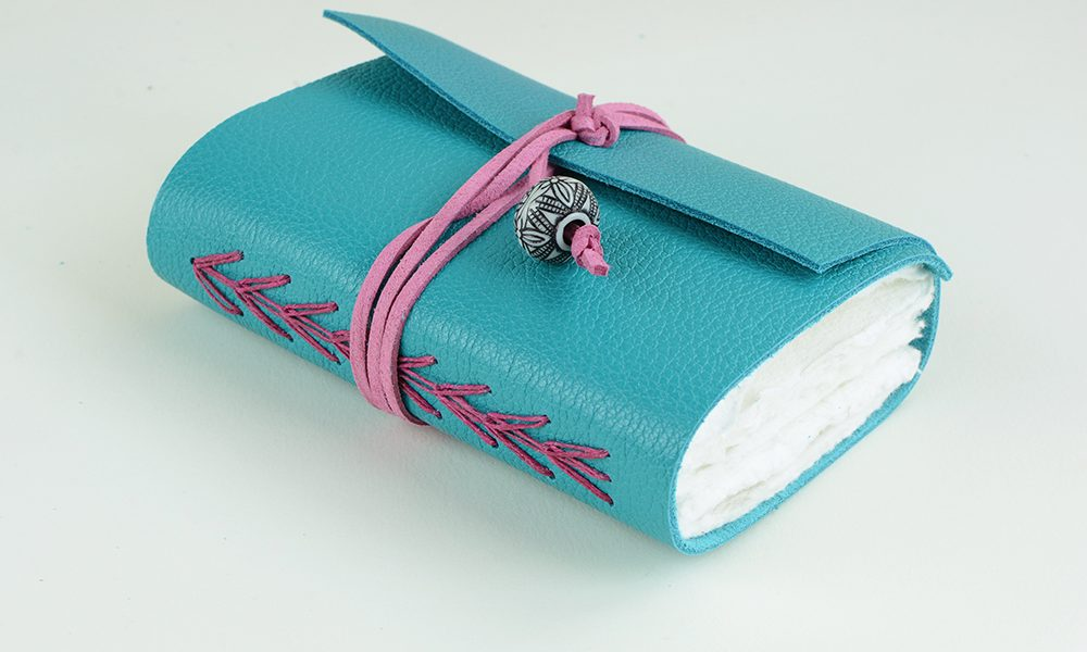 Triple Chain Leather Journal | Vintage Page Designs