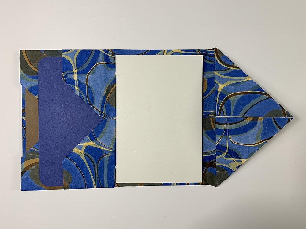 Diagonal Pocket by Jane Nieman   Vintage Page Designs