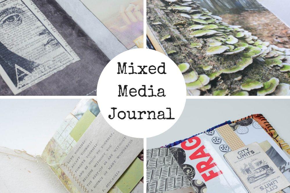 Mixed media journal class