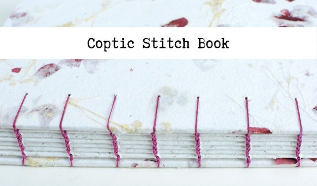 Coptic Stitch Book | Vintage Page Designs