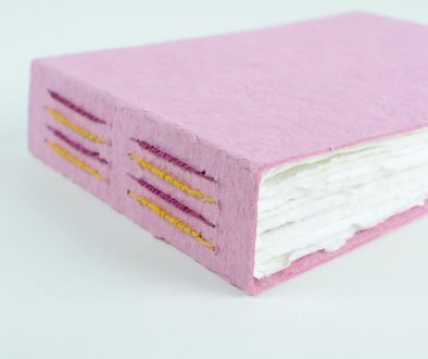 Long Stitch Journal with Handmade Paper