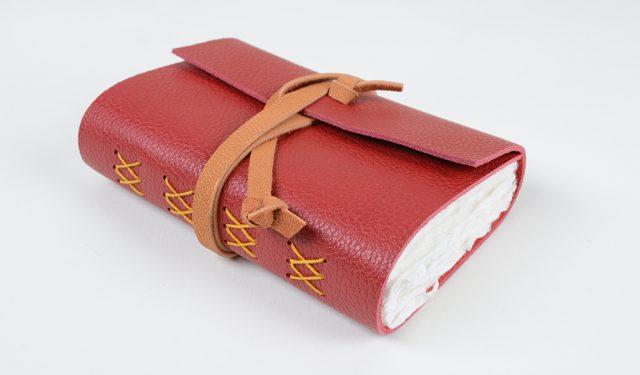 Double Cross stitch journal