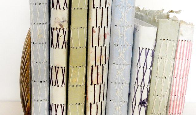 Handmade Books by Lana Stuart | Vintage Page Designs