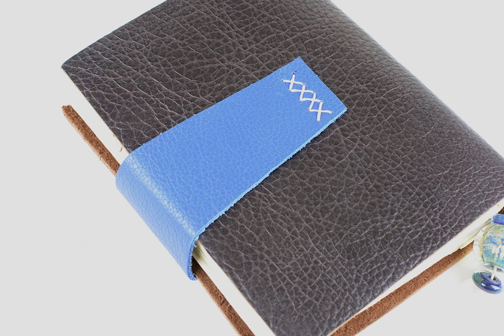 Leather Journal | Vintage Page Designs