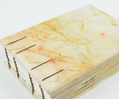 Eco Printed Coptic Bound Book