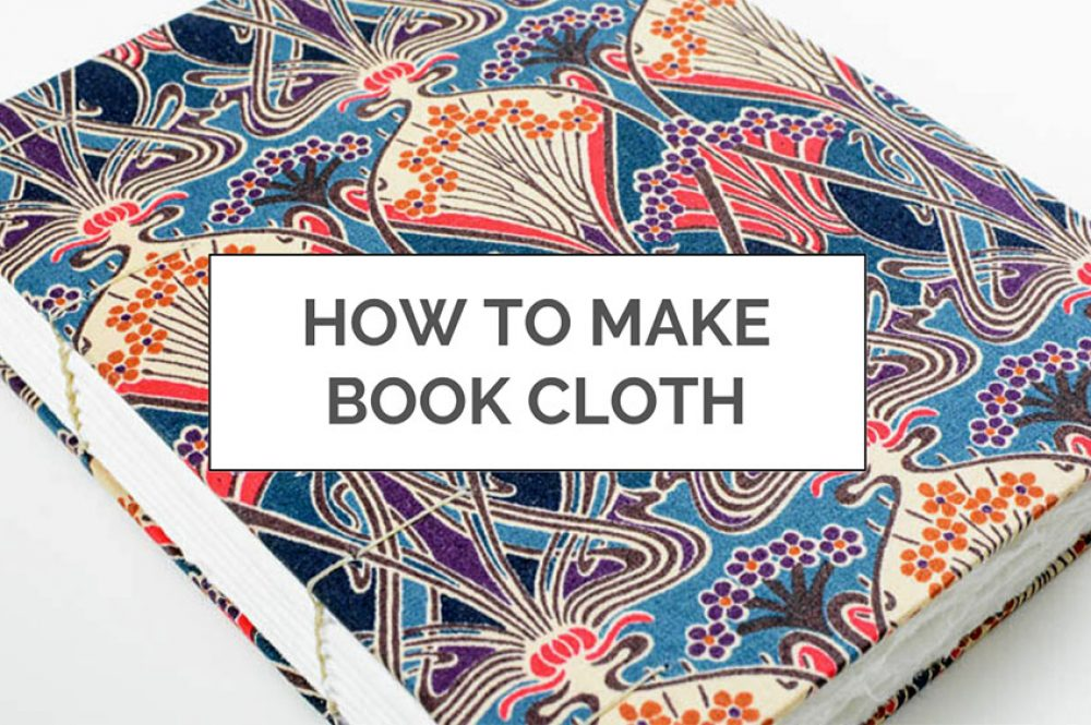 DIY Book Cloth | Vintage Page Designs