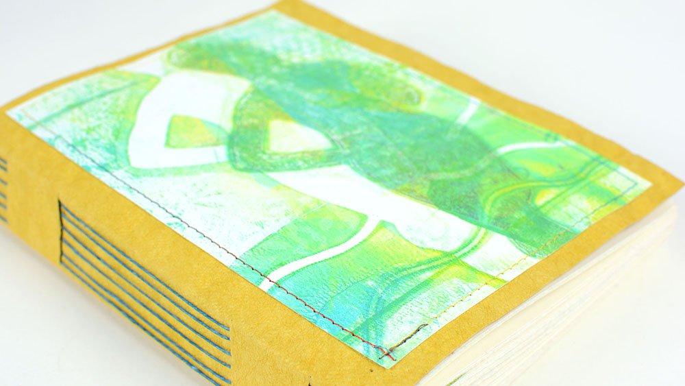 handmade book long stitch journal