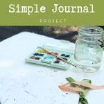 simple handmade journal