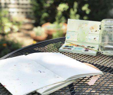 Simple handmade journal