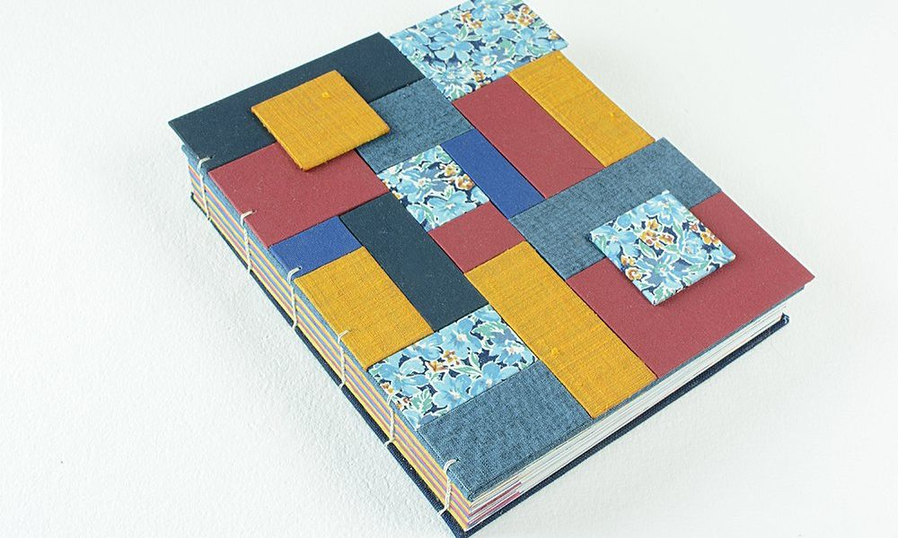 Finished Quilted Book