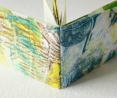 Gelli Printing with Leaves
